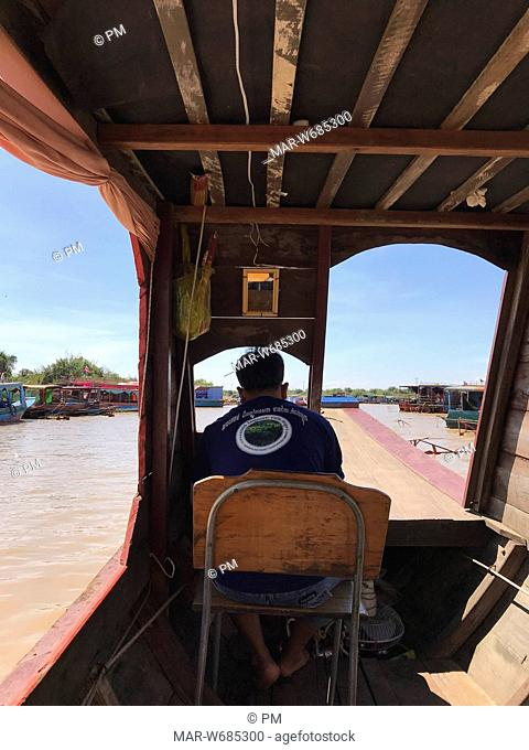 kampong phluk floating village, siem reap, cambogia