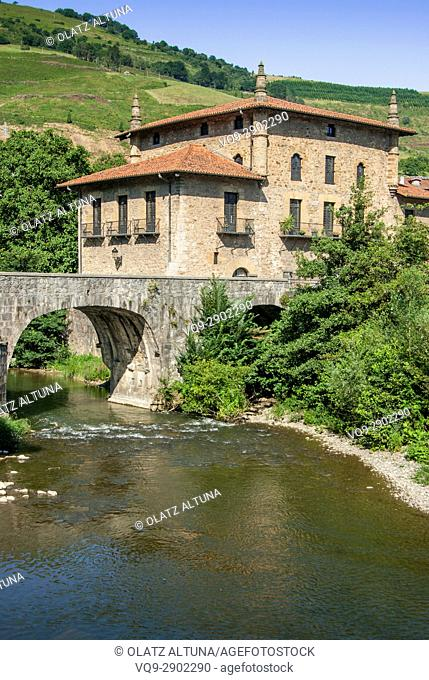 Emparan House-Tower. Azpeitia, Basque Country, Spain