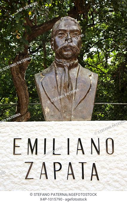 Emiliano Zapata Bust  Tuxtla Gutierrez, Chiapas Mexico