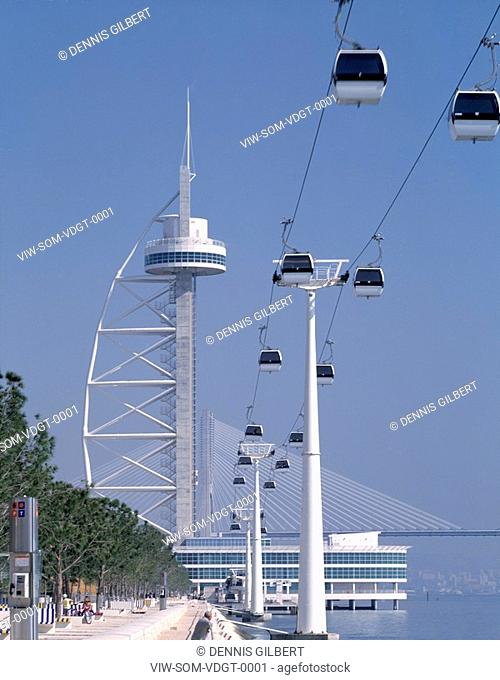 VASCO DA GAMA TOWER, LISBON, PORTUGAL, Architect SKIDMORE OWINGS AND MERRILL