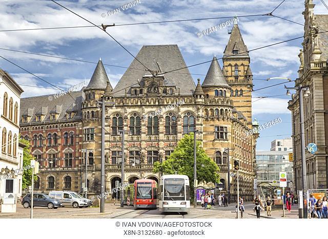 Landgericht building (1895), Bremen, Germany