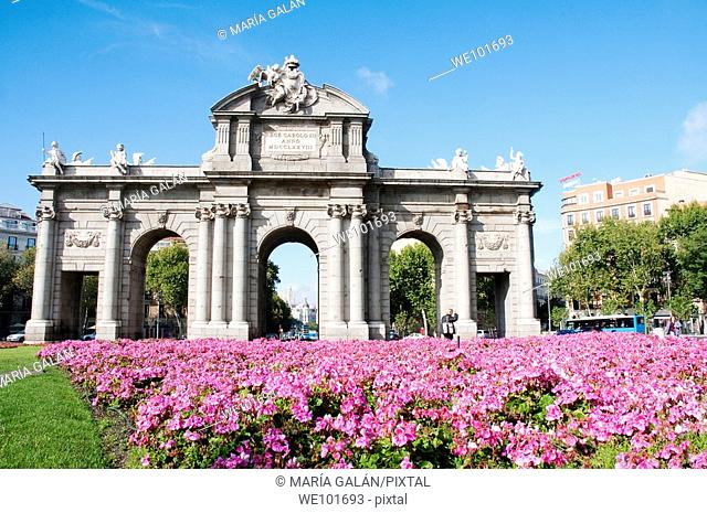 Alcala Gate, Madrid, Spain