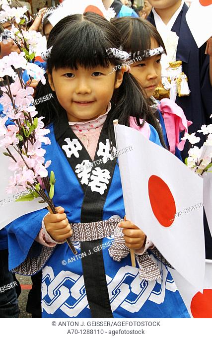 Child Japan City Celebration Zurich, Switzerland