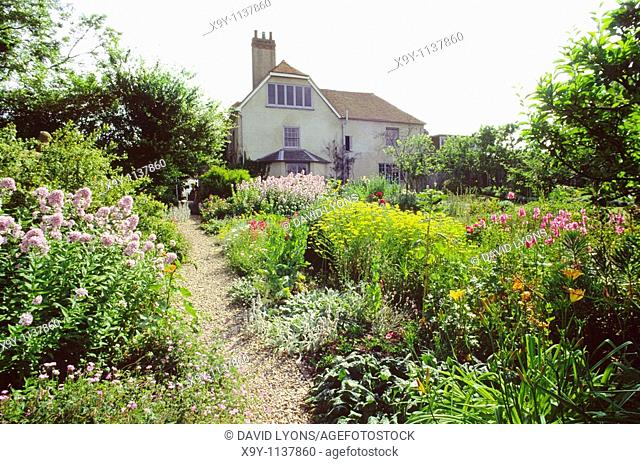 Charlston Farm in East Sussex, England  Home of Vanessa and Clive Bell and Duncan Grant  Writers artists of the Bloomsbury Group