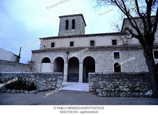 Church of San Miguel in San Miguel del Arroyo, Valladolid, Spain