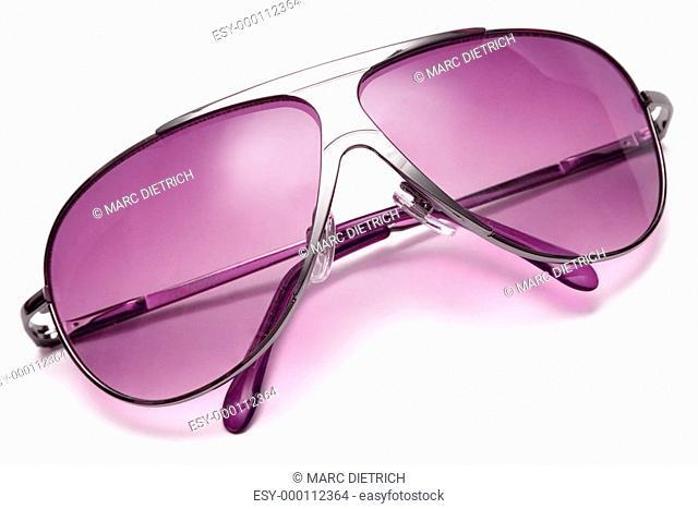 Pink Sonnenbrille