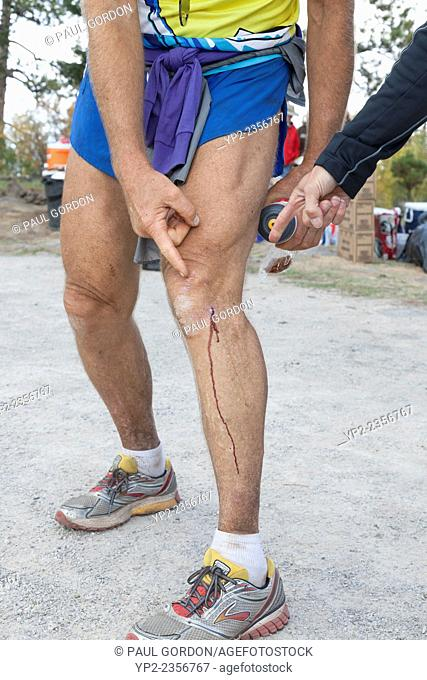 Gordy Ainsleigh at the finish line of the Mt Taylor 50k on September 27, 2014. Gordon Ainsleigh, better known as Gordy, is considered to be the pioneer of the...