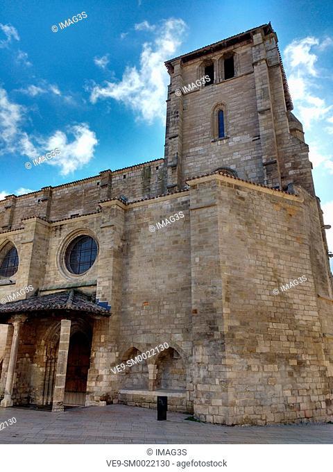 San Esteban church, Burgos city, Way of St. James, Burgos, Spain