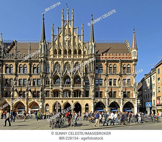 Townhall, Munich, Bavaria, Germany
