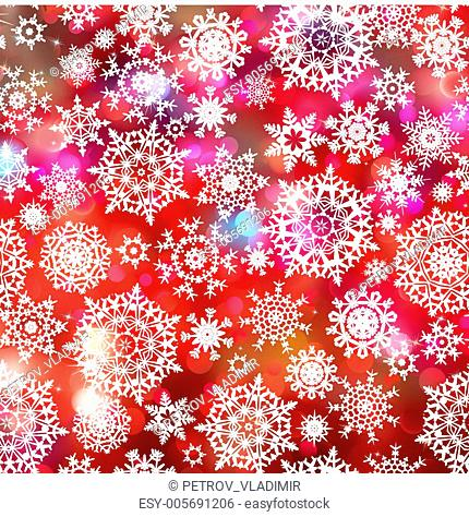 Glittery coloeful Christmas background. EPS 8