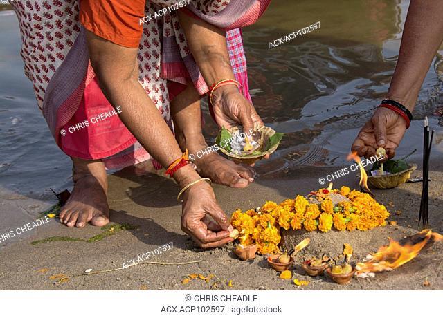 Ganges River, Varanasi, formerly Benares, Uttar Pradesh, India