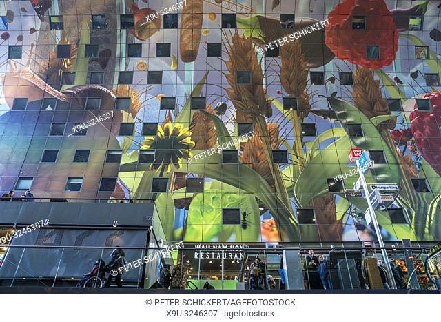 Markthalle / Markthal , Rotterdam, Südholland, Niederlande | Market Hall Markthal in Rotterdam, South Holland, Netherlands