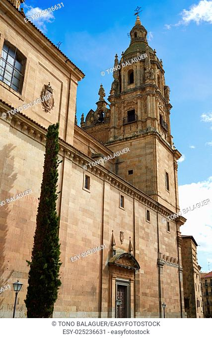 Salamanca Clerecia church in Spain