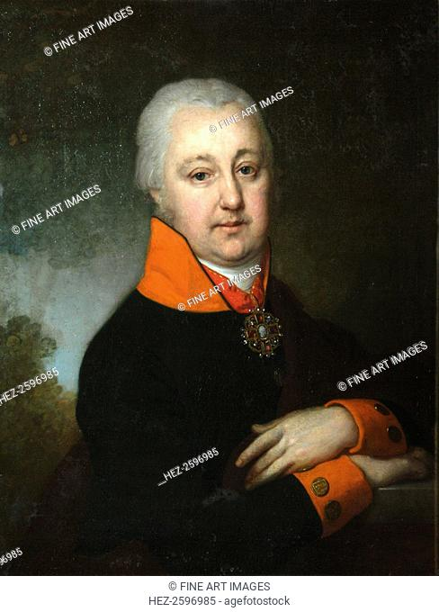 Portrait of Nikolai Mikhailovich Yakovlev, 1802. Found in the collection of the State Tretyakov Gallery, Moscow
