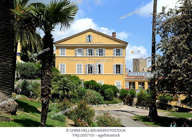 Fragonard Perfunery and Public Park Grasse Alpes-Maritimes France