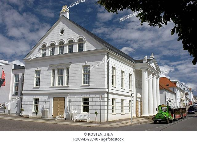 Theatre Putbus Isle of Ruegen Mecklenburg-Western Pommerania Germany