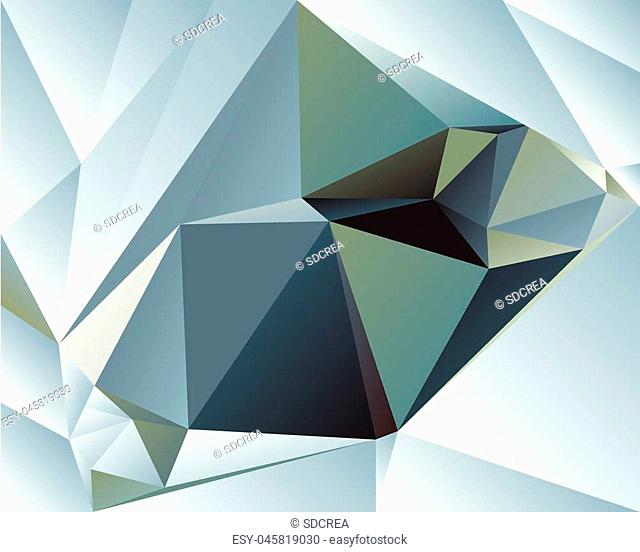 Polygonal Abstract Background Design, EPS 10 supported