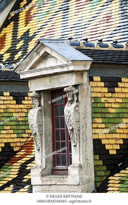 France, Cote d'Or, Dijon, Aubriot Hotel, rue des Forges Forges Street