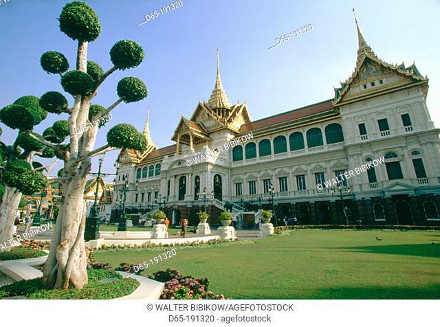 Chakri-Mahaprasad. Grand Palace complex. Old Bangkok. Thailand