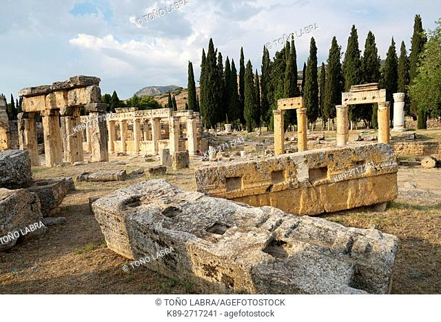 Hierapolis. Ancient Greece. Asia Minor. Turkey