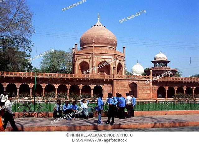 Guides & Photographers at Taj Mahal Seventh Wonder of The World , Agra , Uttar Pradesh , India