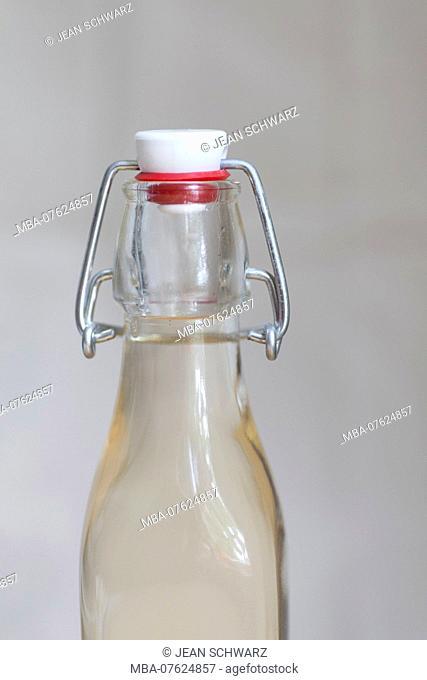bottled lilac syrup