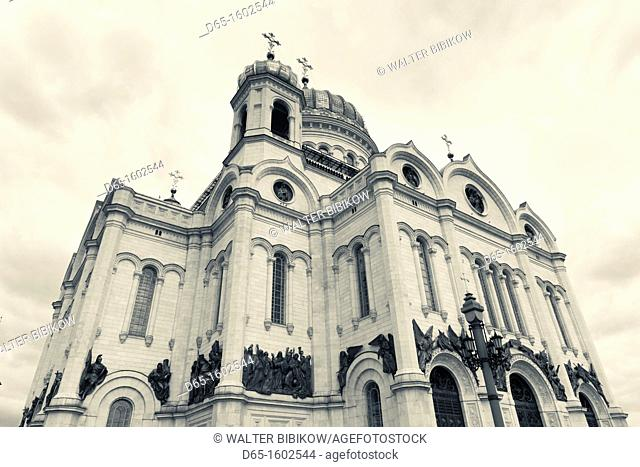 Russia, Moscow Oblast, Moscow, Khamovniki-area, Cathedral of Christ the Saviour Cathedral, detail