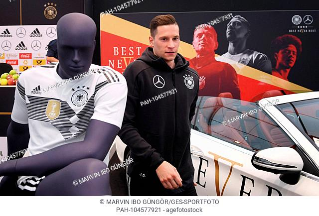 Julian Draxler (Germany). GES / Football / Preparing for the 2018 World Cup: Press Conference of the German National Team in South Tyrol, 28.05