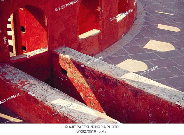 Jantar Mantar astronomical observatories at New Delhi , India