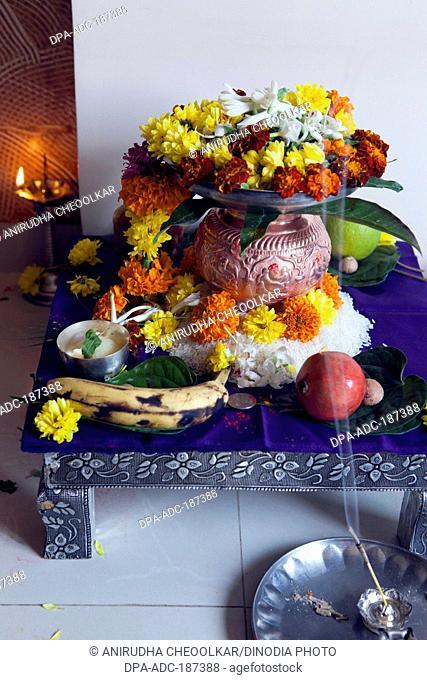kalash for puja India Asia