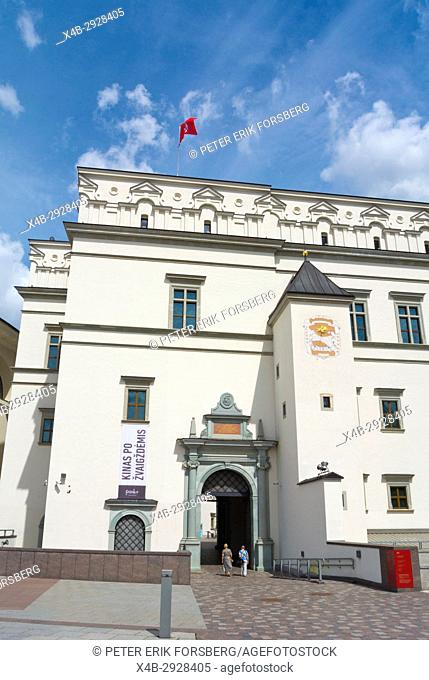 Palace of the Grand Dukes of Lithuania, Katedros aikste, Cathedral Square, Vilnius, Lithuania