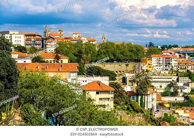 View of Porto from Jardins do Palacio de Cristal