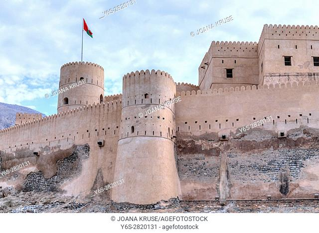 Nakhal Fort, Oman, Middle East, Asia