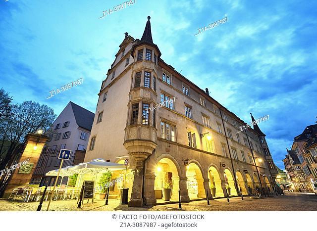 Colmar city center. Alsace. Grand Est. France