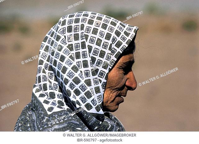 Curdish woman, Fars province, Iran