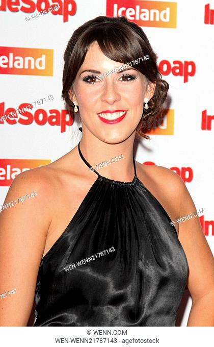 Inside Soap Awards 2014 held at the DSTRKT London - Arrivals Featuring: Verity Rushworth Where: London, United Kingdom When: 01 Oct 2014 Credit: WENN