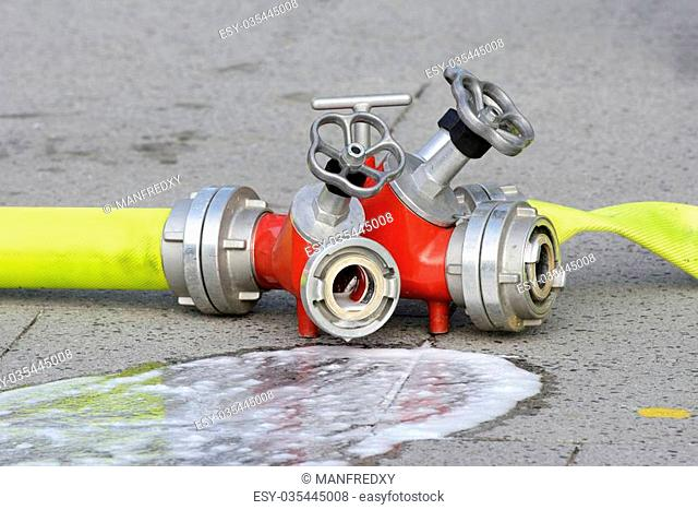 Fire hydrant red fire Stock Photos and Images | age fotostock