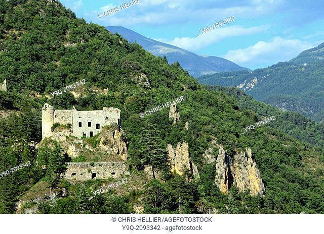 Château de Reine-Jeanne Guillaumes Haut-Var Alpes-Maritimes France