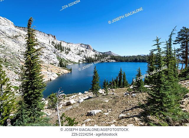View of May Lake. Yosemite National Park, California, United States
