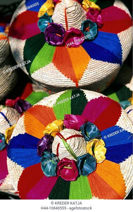Mexico, Central America, America, Sombreros, Playa del Carmen, Riviera Maya, Yucatan Peninsula, Cancun, travel, Shoppi
