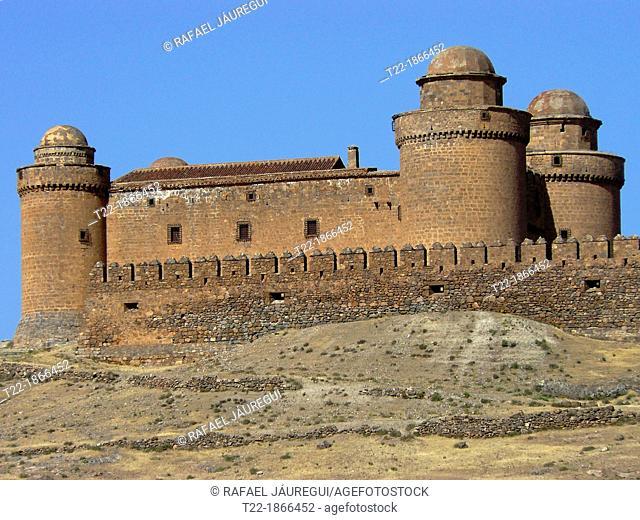 La Calahorra Granada  Calahorra Castle