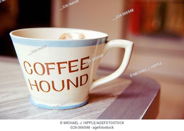 Coffee cup still life