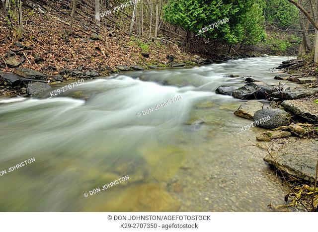 Kagawong River, Kagawong, Ontario, Canada