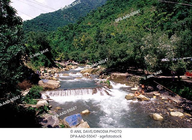 sahastradhara spring in dehradun at uttaranchal India Asia