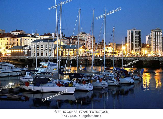 Marina Gijón, Asturias, Spain