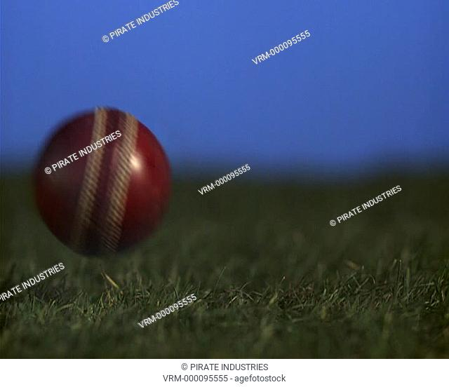 Cricket balls comes into frame. 2000fps