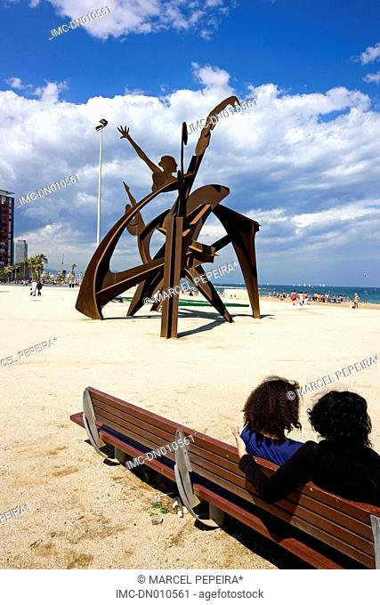 Spain, Catalonia, Barcelona, the beach