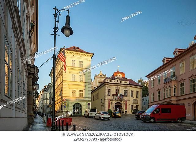Morning in Mala Strana (Lesser Town), Prague, Czech Republic