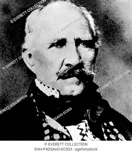 General Sam Houston (1793-1863), photograph by Mathew Brady
