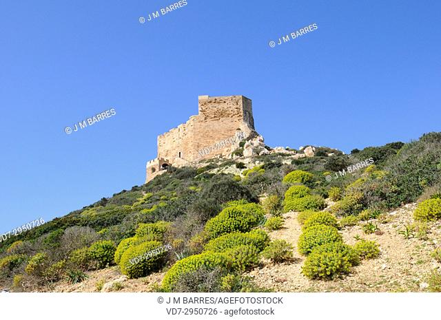 Cabrera Archipelago National Park, castle. Majorca, Balearic Islands, Spain